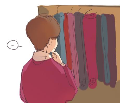 默默举手点图ノ纠结穿什么毛衫而开始烦躁的小锁匠3