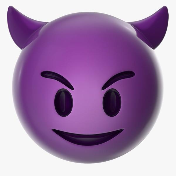 Smile Purple Violet Cartoon