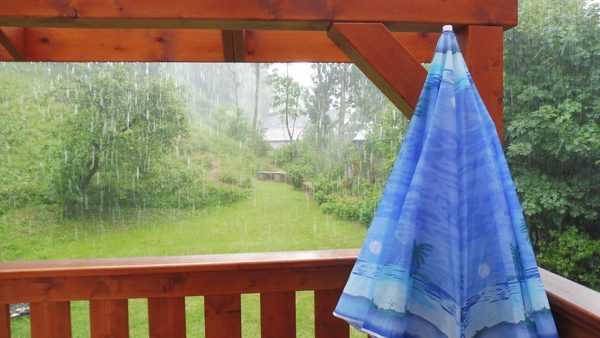 Do you find the sound of rain when indoors to be relaxing
