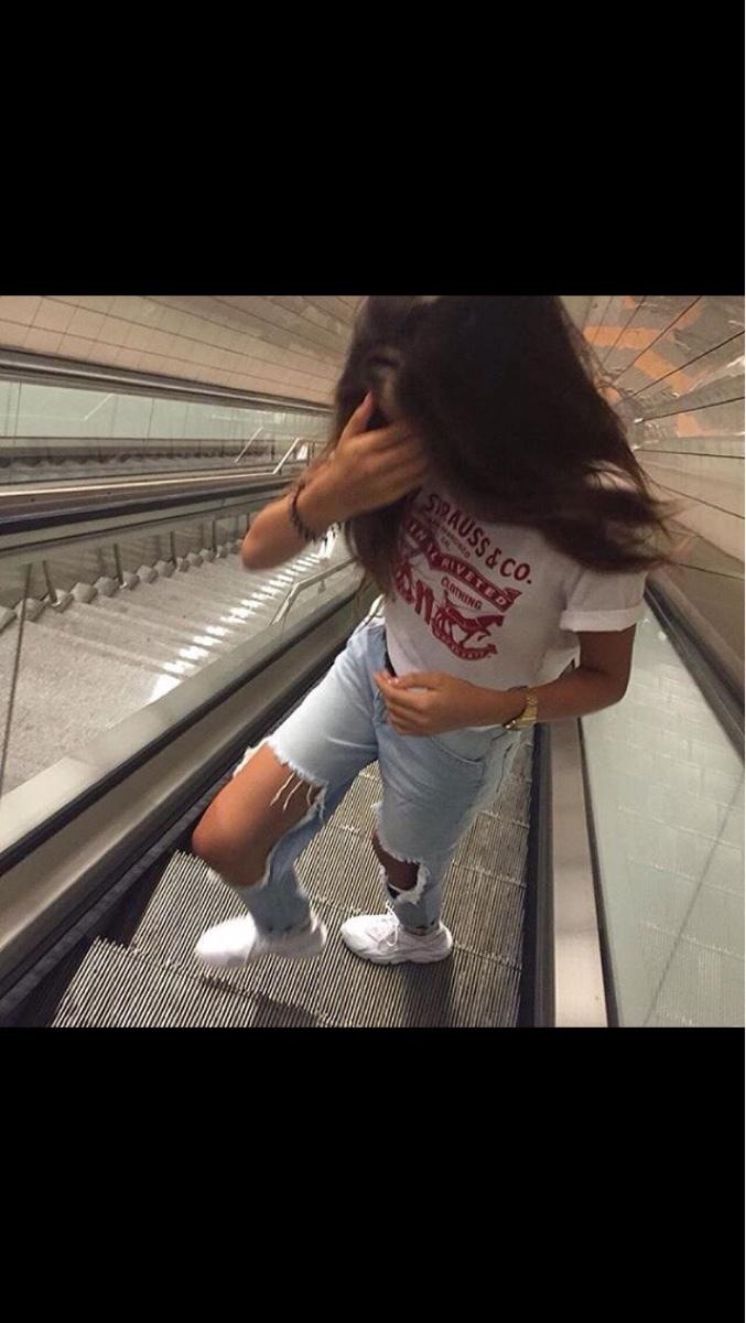 Heftiger Mädchen Style