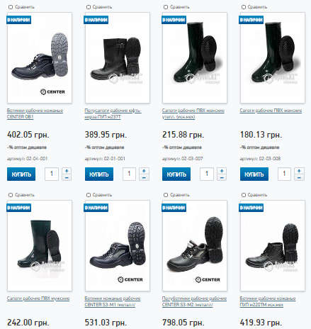 Какая существует современная удобная обувь для рабочих промышленных предприятий