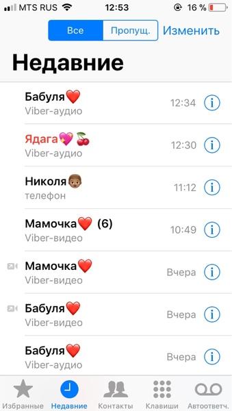 скин звонков