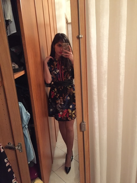 Foto con un vestito