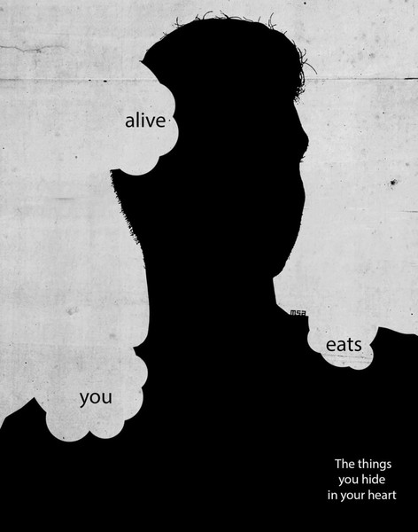 The things the hide in your heart eats you alive