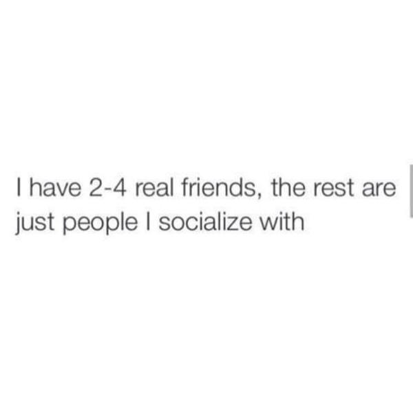 Berapa banyak orang yang kamu anggap sebagai sahabat karib atau BFF