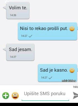 ljubavne chat poruke