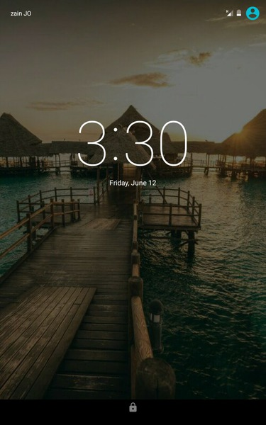 Post a picture of your current lock screen