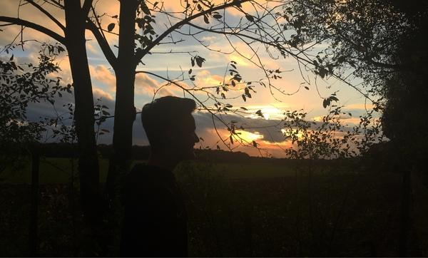 Bild von einem Sonnenuntergang Psbist voll hübsch