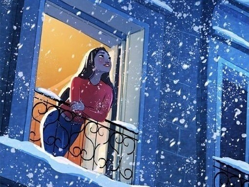 Кинь любимый трексохру на зимнюю тематику