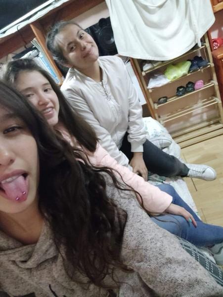 Foto con amigas