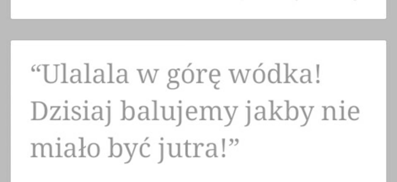 Siemanko  Milej soboty zycze