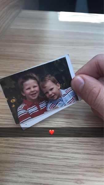 Bild mit deinem Bruder