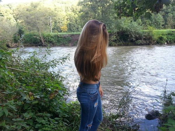 Bild von deinen Haaren