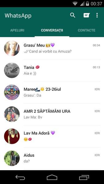 Cauta i o femeie pe Whatsapp)