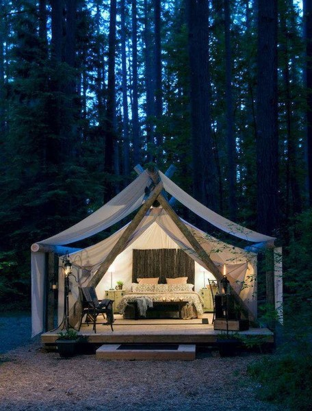 Have you ever gone camping What did you think about sleeping outdoors
