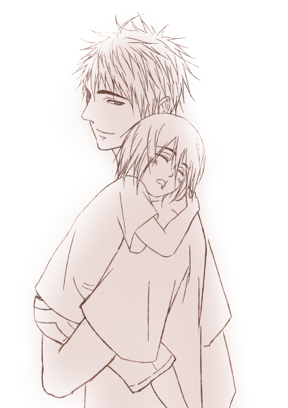 可以畫張木吉爸爸抱小敦嗎一講就知道我誰了彡
