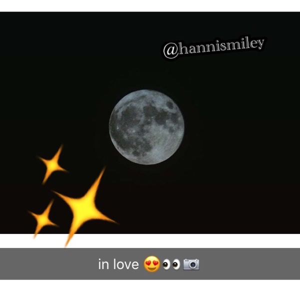 she was in love  with the moon because just like herself  it shines the