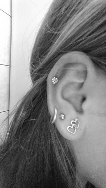 Ile masz kolczykow najwiecej w jednym uchu p