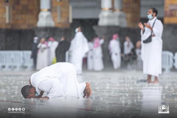 يارب بقاع مكة وسكينة مكة والنظر لمكة والسجود في مكة