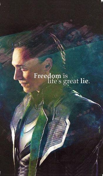 Nějakou hezkou tapetu na mobil s Lokim