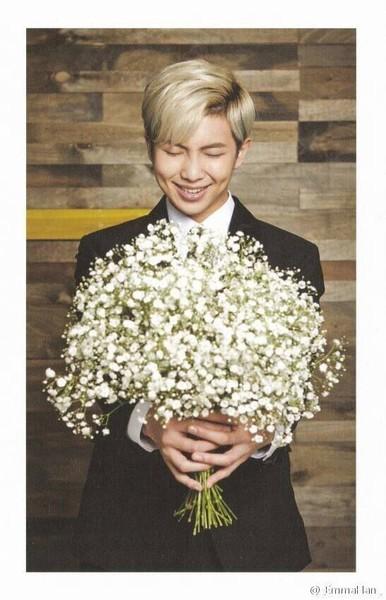 Zdjęcie z kwiatami