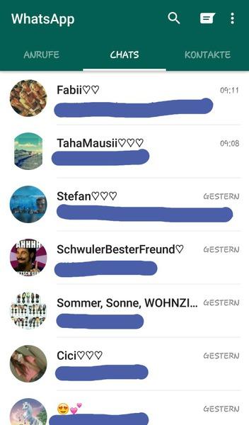 Whatsappchats und jedam liker dia frog