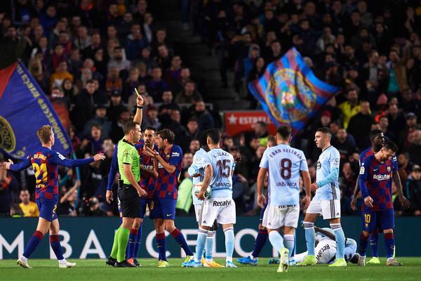 Barcelona odwoła się od żółtej kartki Leo Messiego z meczu z Celtą Vigo