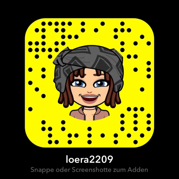 Postest du bitte mal deinen Snapcode