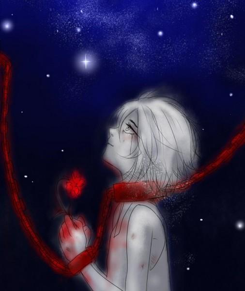 Раскалённый огонь поднимается почти до небес языком облизывая мокрую землю я