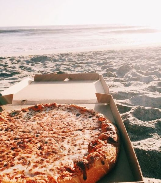 Игра холодильник  Тема пицца