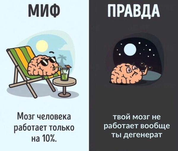 Что будет если человек начнёт использовать свой мозг на 100