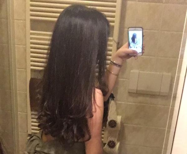 Metteresti una foto dei tuoi capelli