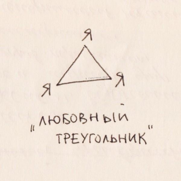 У тебя есть треугольник