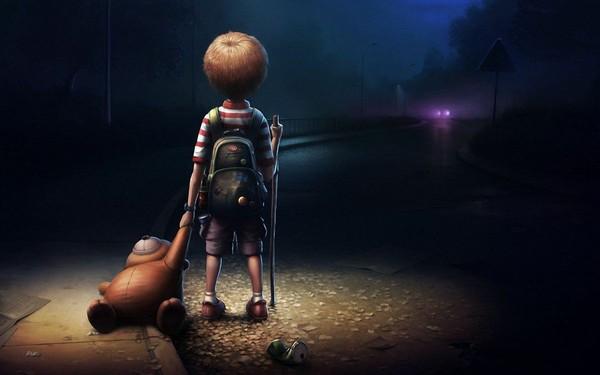 Zaman lazım sadece unutacaksın  Nasıl unuttuysan çocukluğunu  kırılan