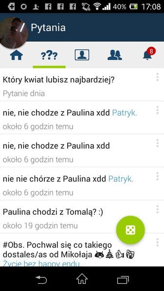Paulina chodzi z Tomalą