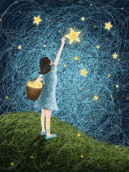 نحن نعلق أحلامنا على السماء لتزيينها  و عندما تتحقق تسقط على هيئة شهب