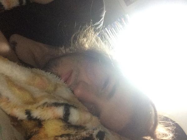 Publique uma foto sua acabando de acordar