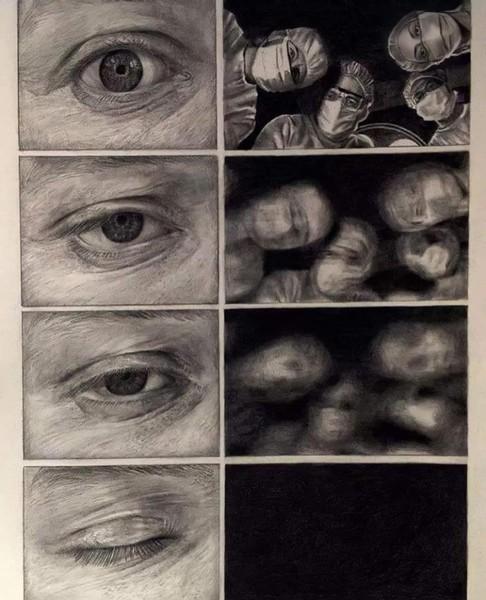 من الاسفل إلى الأعلى قصة ومن الأعلى للاسفل قصة أخرى