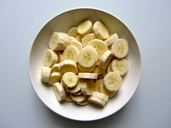 Le thème du soir est les bananes