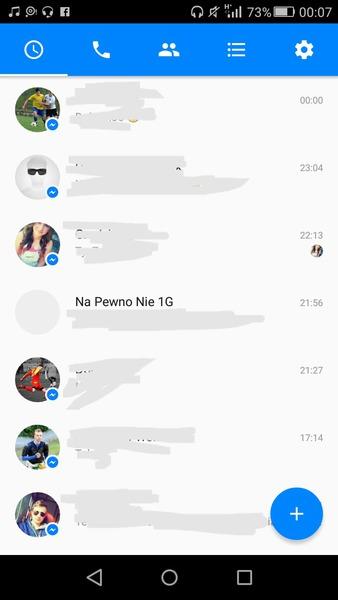 screen rozmów z fb
