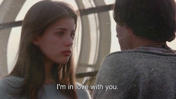 Я верю в одну вещь Всегда нужно признаваться в любви тому кого любишь Согласны