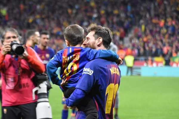 Thiago Messi Kiedy dorosnę chcę zostać bramkarzem i być najlepszym na