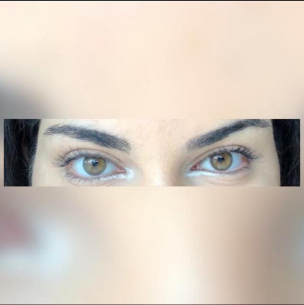 Augen farbe