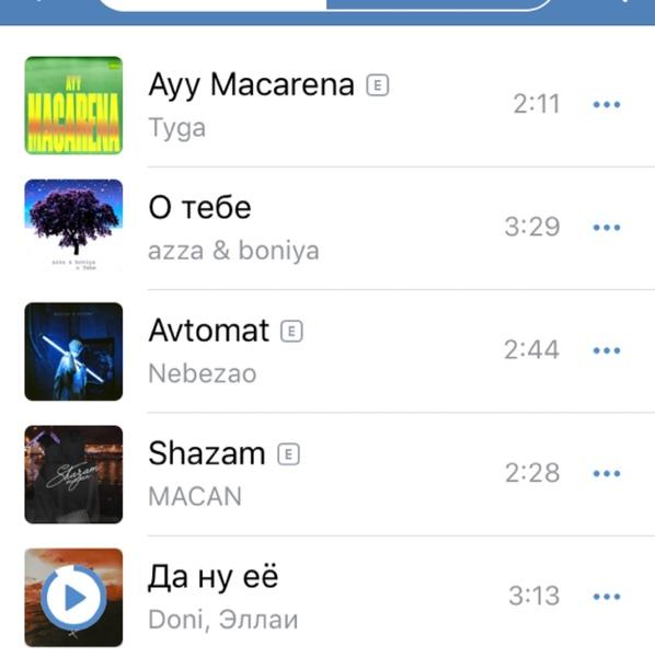 Какую музыку слушаешь