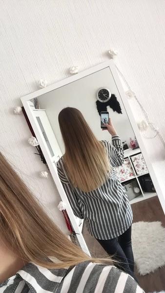 Du hast mega schöne haare hast du ein bild wo man die offen von hinten sieht