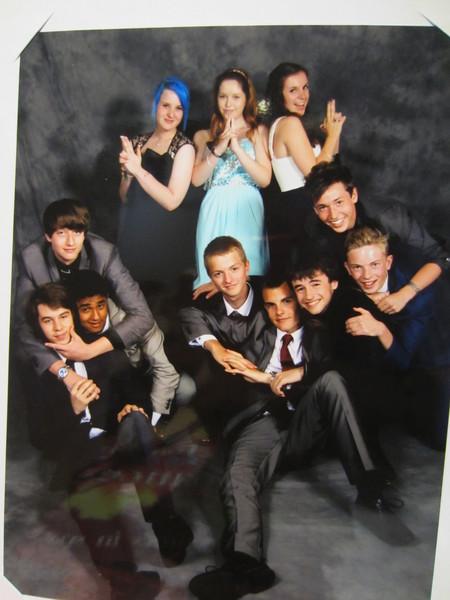 Post prom pics