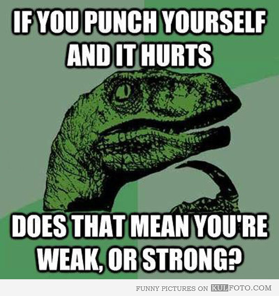 do u consider urself as a strong person
