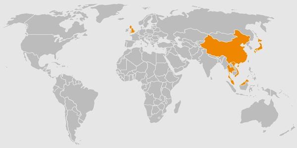 您去过哪些国家地区
