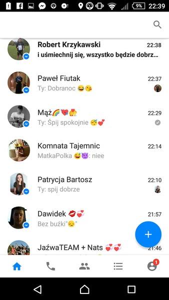 Screen messengera