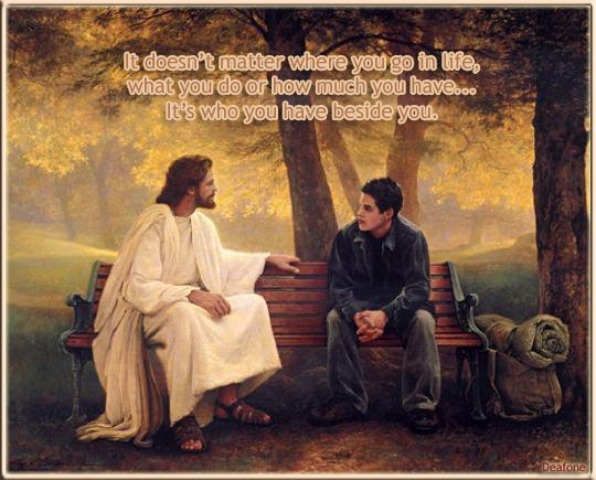 kenapa kamu sayang bgt sama Tuhan Yesus